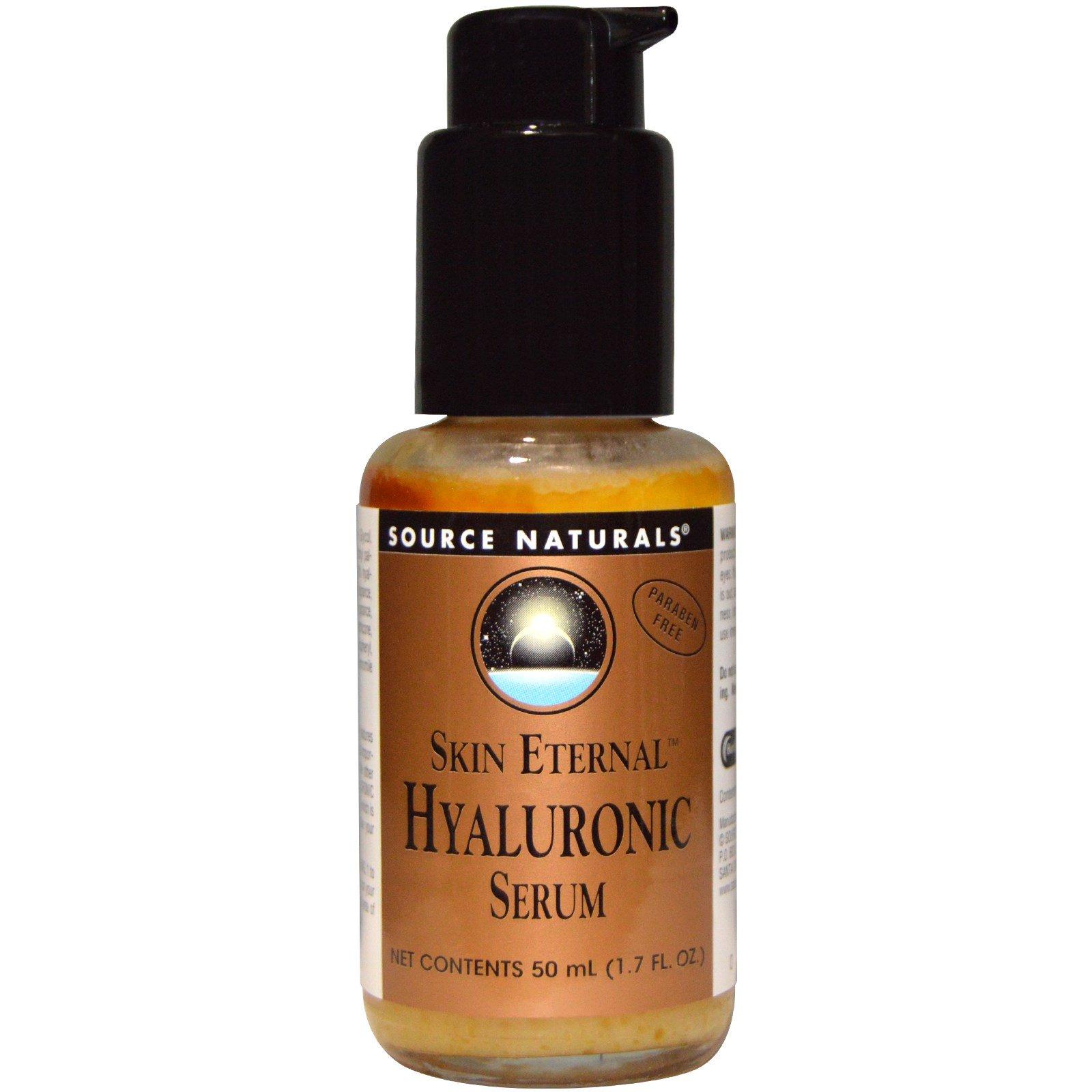 Source Naturals, Skin Eternal, Hyaluronic Serum, 1.7 fl oz(pack of 3) Enprani WhiteCell Emulsion 4.06fl.oz/120ml