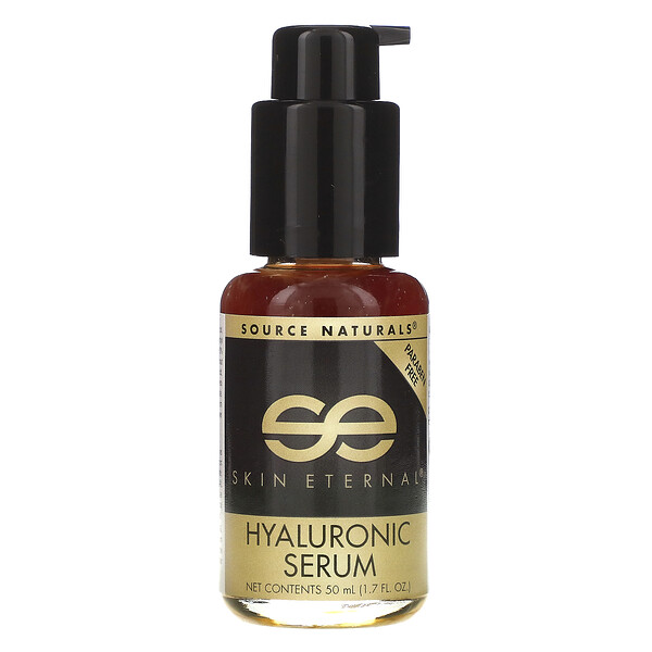 Source Naturals, Skin Eternal, Hyaluronic Serum, 1.7 fl oz (50 ml)