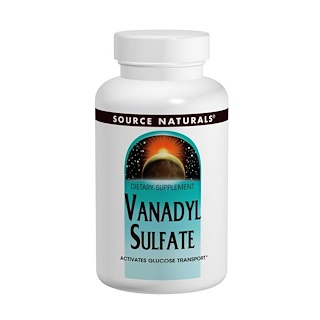 Source Naturals, Vanadyl Sulfate, 10 mg, 100 Tablets