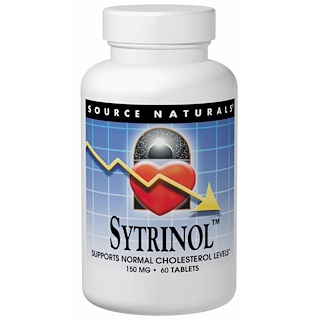 Source Naturals, Sytrinol, 60 Tablets