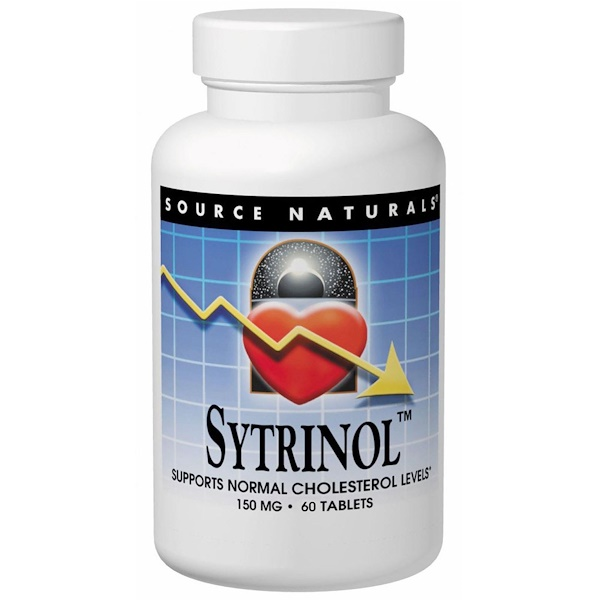 Source Naturals, Sytrinol, 60 Tablets (Discontinued Item)