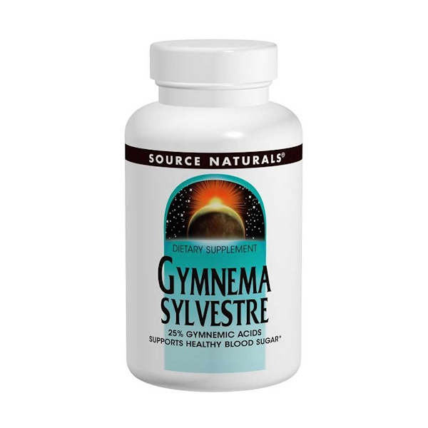 Source Naturals, Gymnema Sylvestre, 260 mg, 120 Tablets (Discontinued Item)