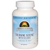Отзывы о Source Naturals, Serene Science, успокаивающий теанин с комплексом Relora, 60таблеток