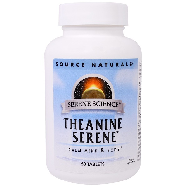 Theanine Serene, 60 Tablets
