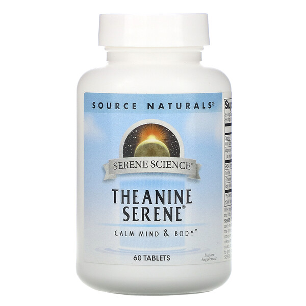 Serene Science, Theanine Serene, 60 Tablets