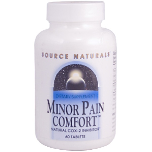 Source Naturals, Minor Pain Comfort, 60 Tablets (Discontinued Item)