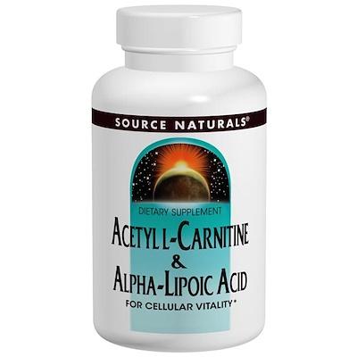 Acetyl L-Carnitine & Alpha Lipoic Acid, 60 Tablets