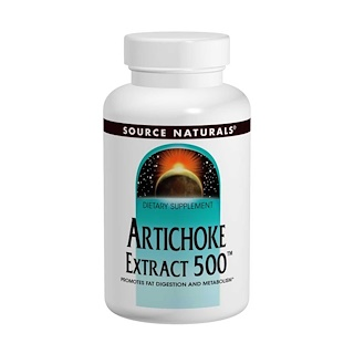 Source Naturals, Artichoke Extract 500, 180 Tablets