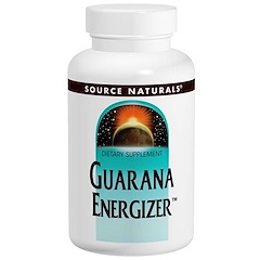 Source Naturals, Guarana Energizer, 900 mg, 60 Tablets