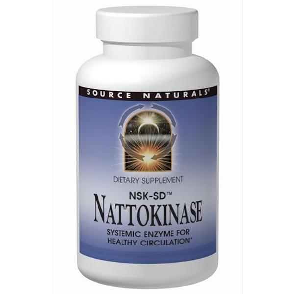 Source Naturals, Nattokinase, 50 mg, 30 Softgels (Discontinued Item)