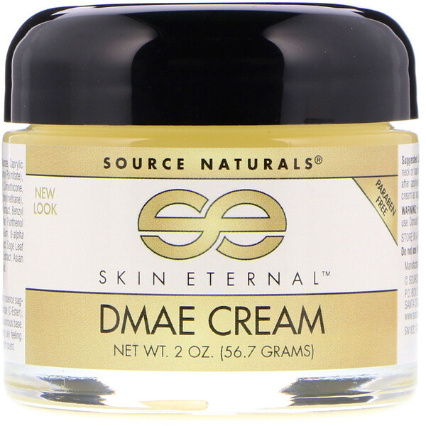 Source Naturals, Skin Eternal DMAE Cream, 2 oz (56.7 g)