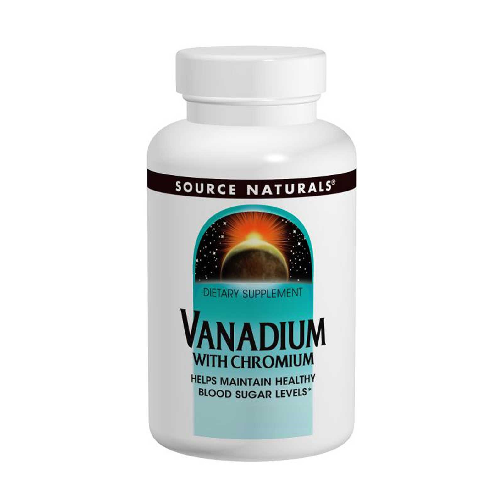 Source Naturals, Vanadium with Chromium, 90 Tablets
