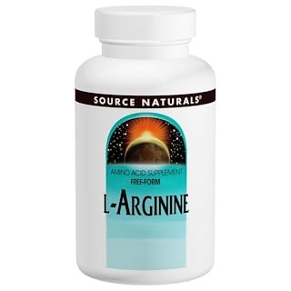 Source Naturals, L-Arginine, Frei Form, 1000 mg, 100 Tabletten