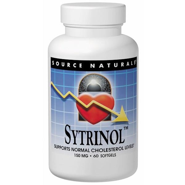 Source Naturals, Sytrinol, 150 mg, 60 Softgels (Discontinued Item)