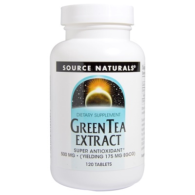 Экстракт зелёного чая, 500 мг, 120 таблеток pycnogenol экстракт сосновой коры 50мг 30таблеток
