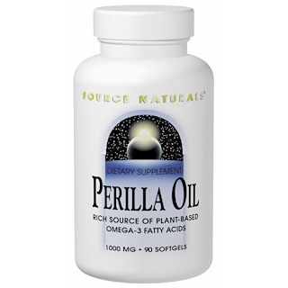 Source Naturals, Perilla Oil, 1000 mg, 90 Softgels