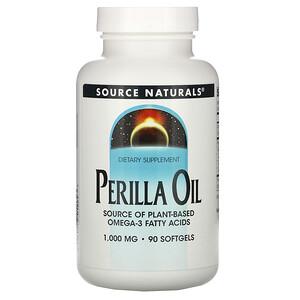 Сорс Начэралс, Perilla Oil, 1000 mg, 90 Softgels отзывы покупателей