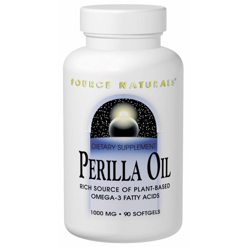 Perilla Oil, 1000 mg, 90 Softgels