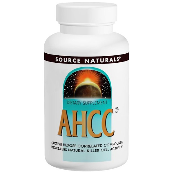 Source Naturals, AHCC, 750 mg, 30 Capsules (Discontinued Item)