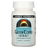 Source Naturals, Green Coffee Extract, 500 mg, 30 Tablets