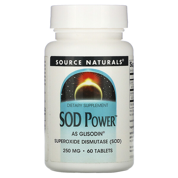 SOD Power, 250 mg, 60 Tablets