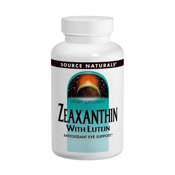 Zeaxanthin with Lutein, 10 mg, 60 Capsules