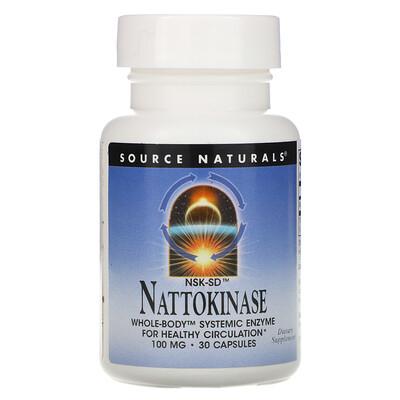 Source Naturals NSK-SD Nattokinase, 100 mg, 30 Capsules