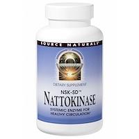 NSK-SD, наттокиназа, 100 мг, 30 капсул - фото