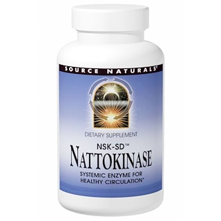 Source Naturals, NSK-SD, Nattokinase, 100 mg, 30 Capsules