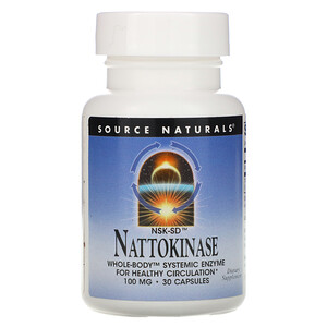 Сорс Начэралс, NSK-SD Nattokinase, 100 mg, 30 Capsules отзывы