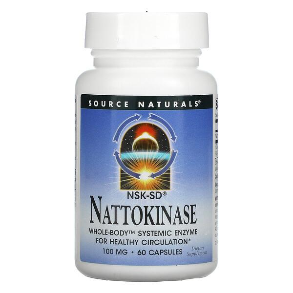 納豆激酶,100 毫克,60 粒膠囊