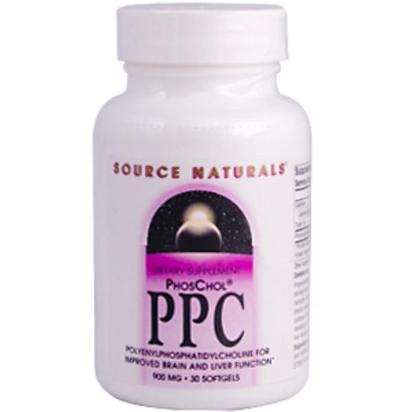 Source Naturals, PPC, 900 mg, 30 Softgels (Discontinued Item)