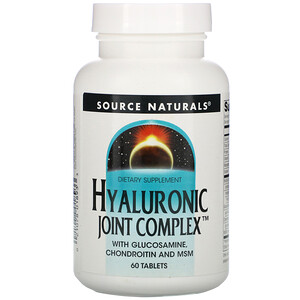 Сорс Начэралс, Hyaluronic Joint Complex, 60 Tablets отзывы покупателей