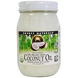 Отзывы о Source Naturals, 100% органическое кокосовое масло первого отжима, 15 жидких унций (443 мл)