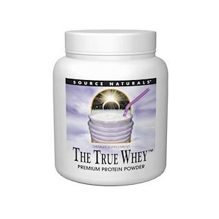 Source Naturals, True Whey, Premium Protein Powder, 16 oz (453.59 g)