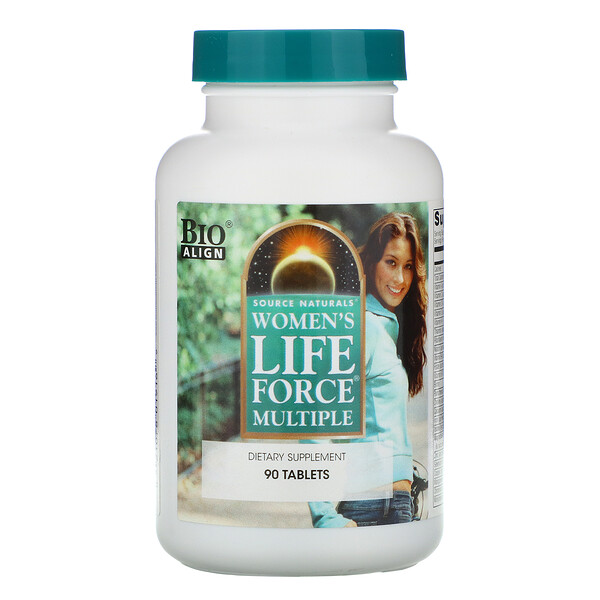 Source Naturals, Lebenskraftpacket für Frauen, 90 Tabletten