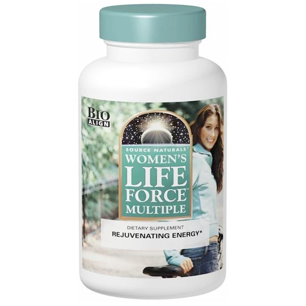 Source Naturals, Women's Life Force Multiple، 180 قرصاً