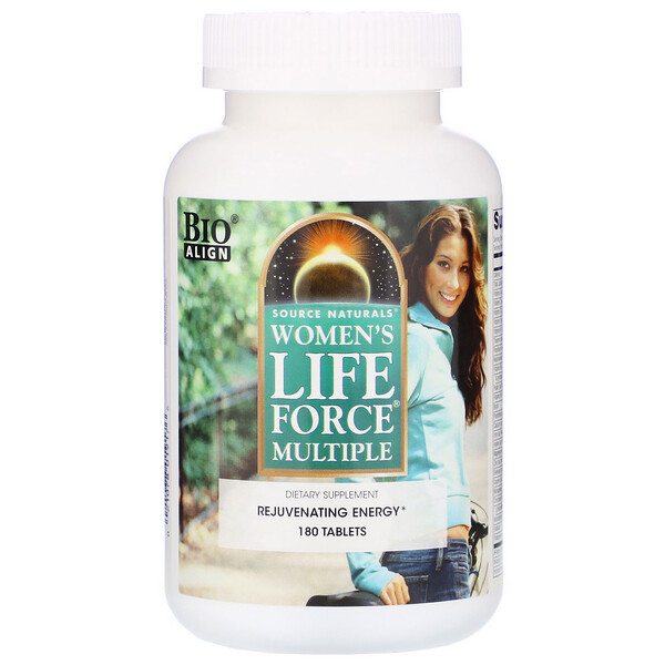 Women's Life Force Multiple, 180 Tablets
