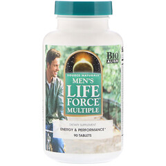 Source Naturals, 男性 LIFE FORCE MULTIPLE,90 片