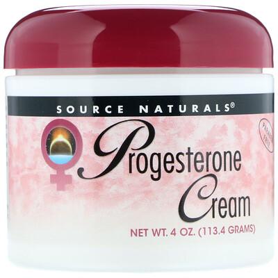 Купить Натуральный крем с прогестероном, 4 унции (113, 4 г)