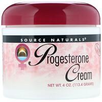 Натуральный крем с прогестероном, 4 унции (113,4 г) - фото