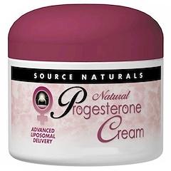 Source Naturals, Natural Progesterone Cream, 4 oz (113.4 g)