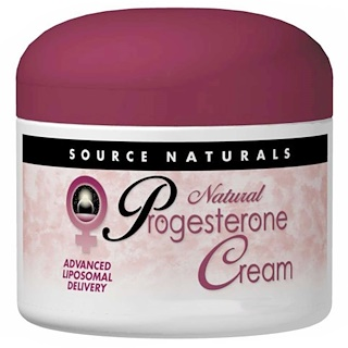 Source Naturals, Natural Progesterone Cream, 4 oz (113.4 g)