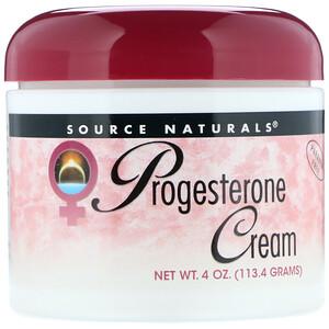 Сорс Начэралс, Progesterone Cream, 4 oz (113.4 g) отзывы покупателей