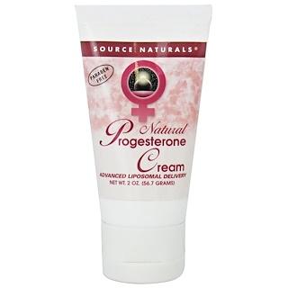 Source Naturals, Natürliche Progesteron-Creme, 2 oz (56.7 g)