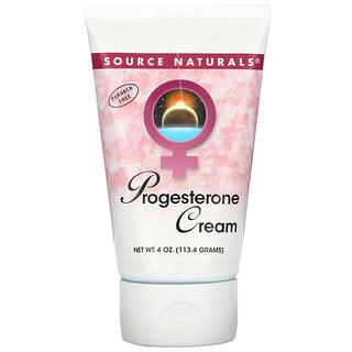 Source Naturals, Progesterone Cream, 4 oz (113.4 g)