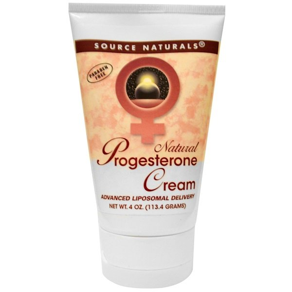 Natural Progesterone Cream, 4 oz (113.4 g)