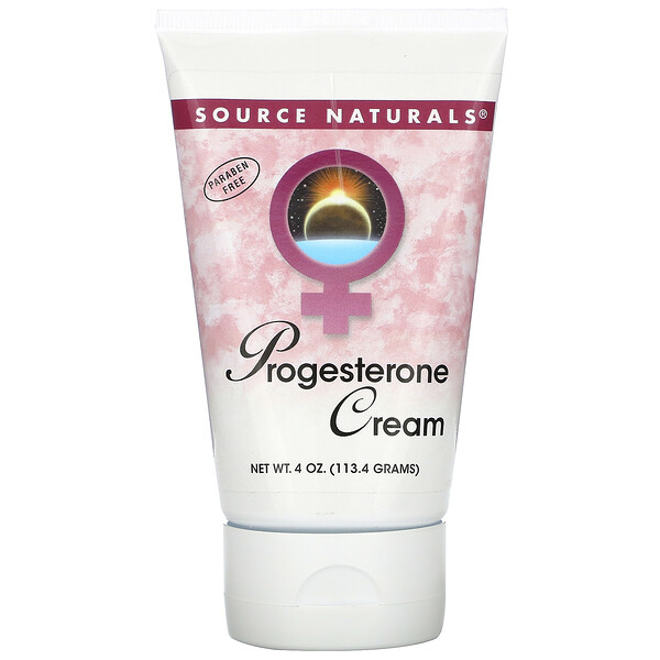 Source Naturals, Progesterone Cream, 4 oz (113.4 g)