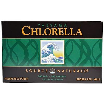 Купить Хлорелла с островов Яэяма, 200 мг, 300 таблеток