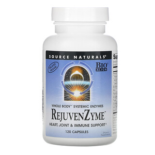 Source Naturals, RejuvenZyme, 120капсул